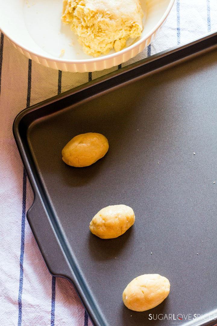 Milk Cookies (biscottoni)-making cookies