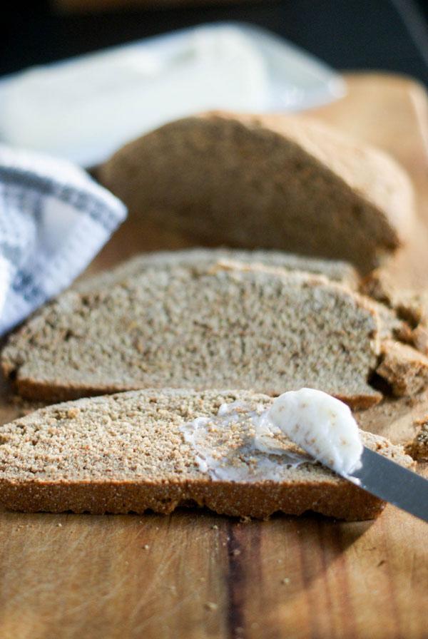 No-Rise Rustic Spelt Bread