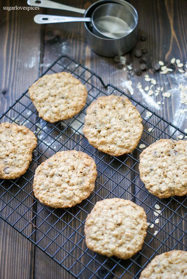 Oatmeal Chocolate Cookies