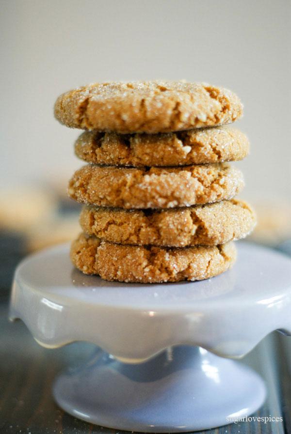 Gluten-free Ginger Molasses Cookies