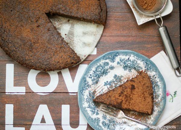 Flourless Chocolate Beet Cake