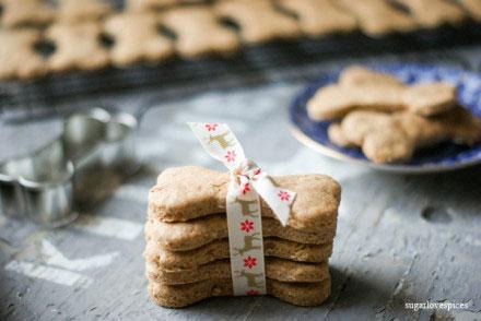 Peanut butter Dog Cookies