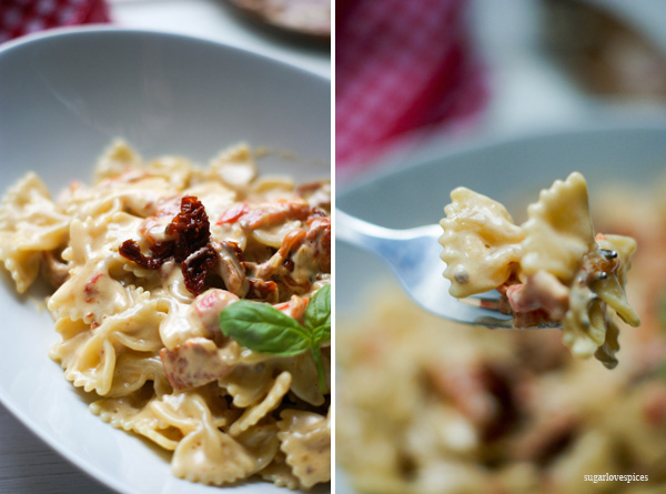 Farfalle-with-roasted-red-peppers-and-sun-dried-tomatoes-cream-sauce