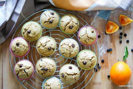 Dark Chocolate Orange Muffins
