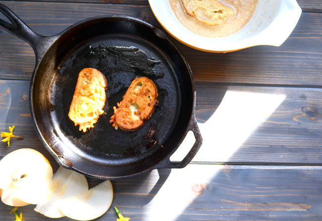 Easter French Toast in Crispy Tempura Batter