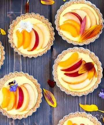 Stone-fruit-lemon-mascarpone-tarts