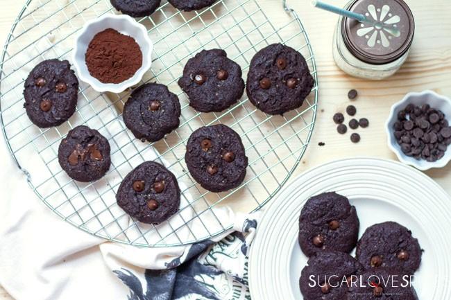 Double Chocolate Cookies