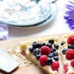 Anniversary Tart with Vanilla bean Pastry Cream and Fruit