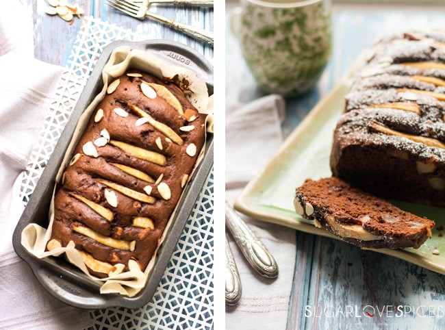 Double Chocolate Pear Cake