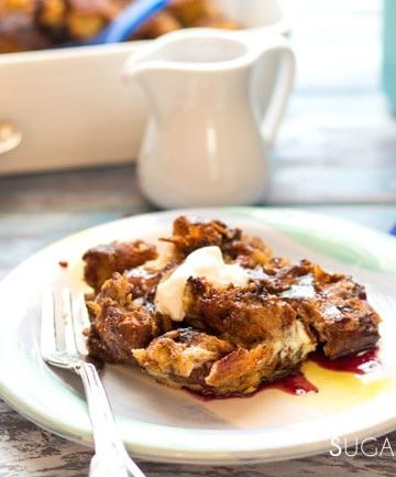Easter Dove Baked French Toast