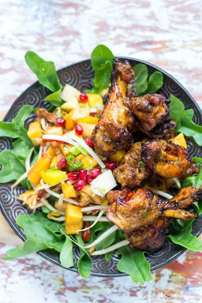 Fifteen Spice Double Cooked Chicken Wings