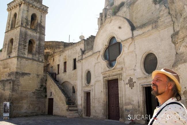 Fave e cicoria (and a beautiful day in Matera)