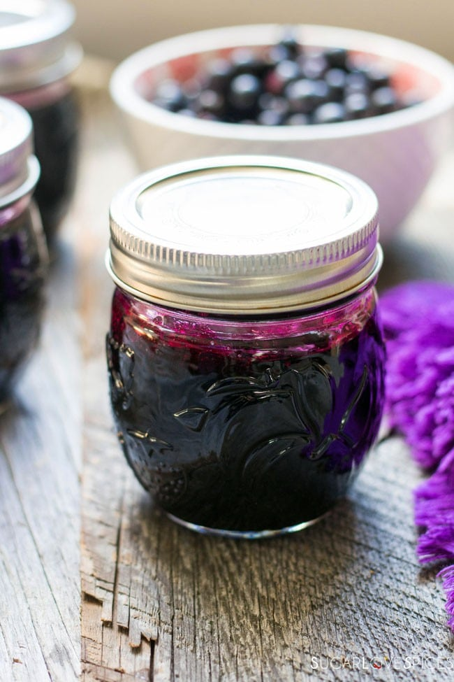 Concord Grape Jelly (pectin-free)