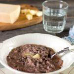 classic italian risotto with radicchio and taleggio-rev-plated