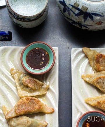 Asian inspired Mushroom Dumplings