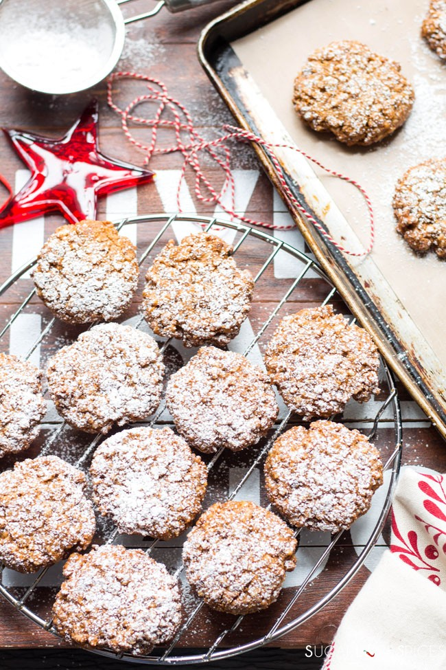 Soft Walnut Cookies (Biscotti Morbidi alle Noci)