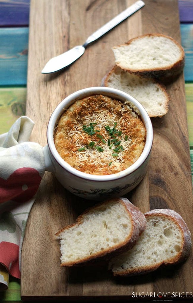 Goat Cheese Fava Artichoke Dip