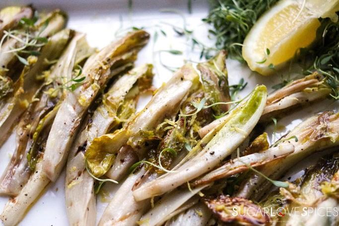 Grilled Organic Endive Back to Basics