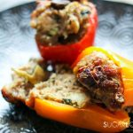 Pork Stuffed Spring Peppers