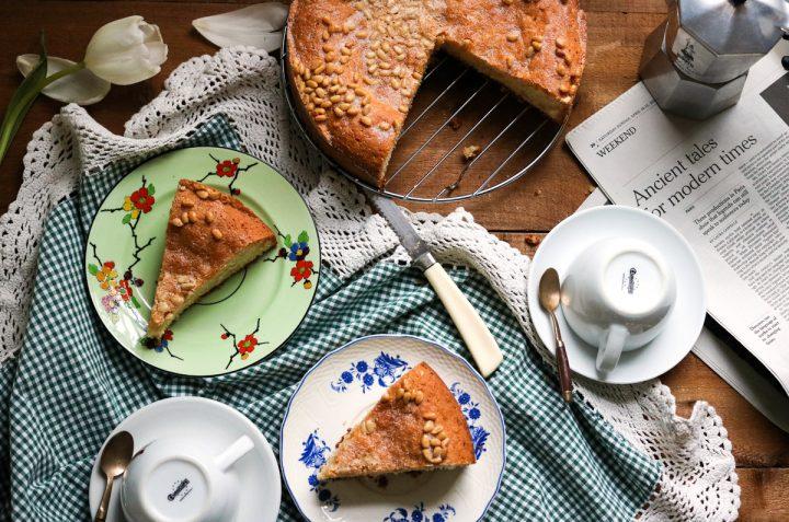 Pinolata, Italian Pine Nut Cake-feature-table