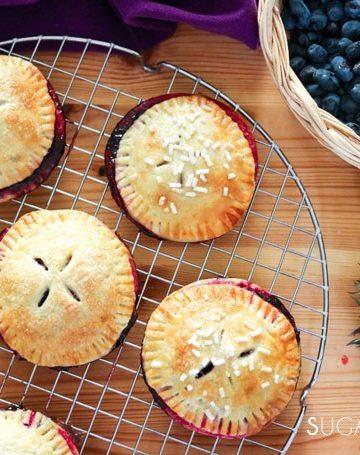 Haskap Berry Hand Pies & A Long Table Dinner