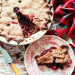 Prairie Berry and Sour Cherry Rye Pie