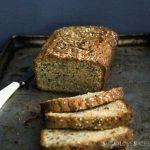 Tahini Sesame Seed Tea Cake