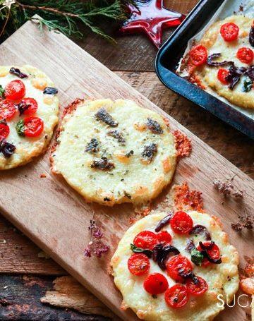 Holiday Mini Potato Pizza