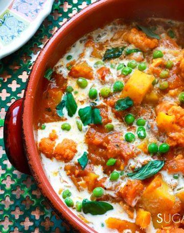 Indian-inspired cauliflower Kadhai