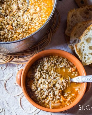 riso e lenticchie