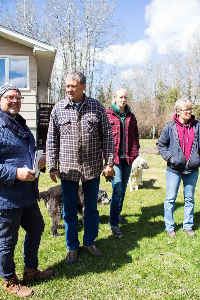 Triple Lyoness farm-owners
