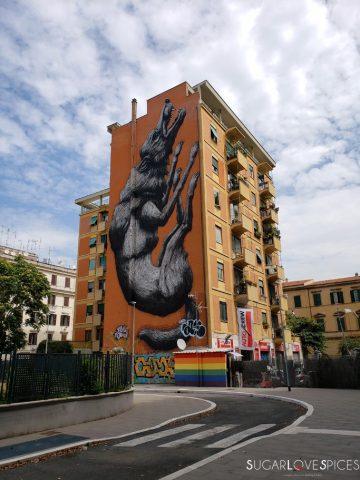 street art Testaccio