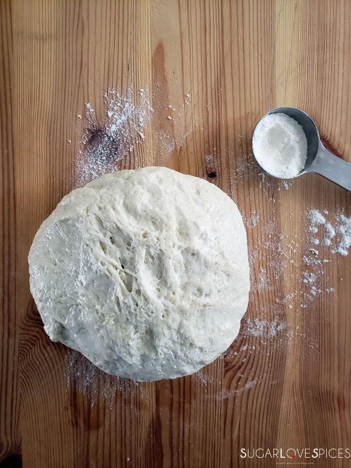 How to make Italian Focaccia Genovese-dough ready