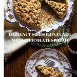 Hazelnut Sbrisolona Cake with Chocolate Spread
