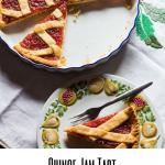 Quince Jam Tart