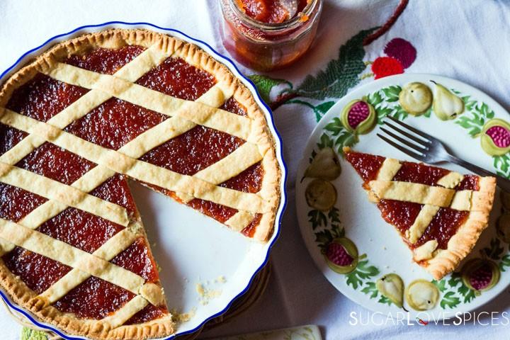 Quince jam tart-feature