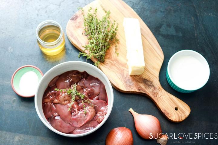 Chicken Liver Paté-ingredients