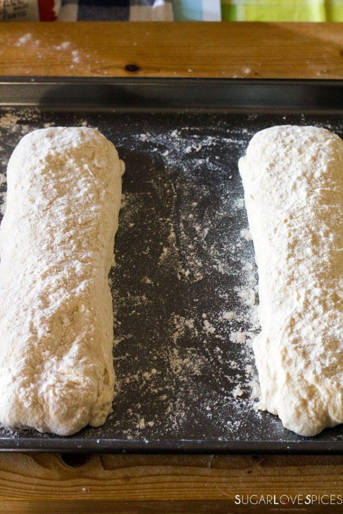 The best Italian Ciabatta Bread Recipe-before the second rise