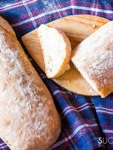The best Italian Ciabatta Bread Recipe-feature