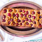 Delicious Cherry Almond Cake-feature