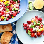Red Kidney Bean Summer Salad with Feta-feature