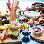 An Antipasto Story featuring Prosciutto-frontal view