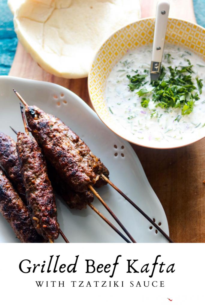 Grilled Beef Kafta-pinterest image