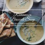 Romanesco broccoli soup