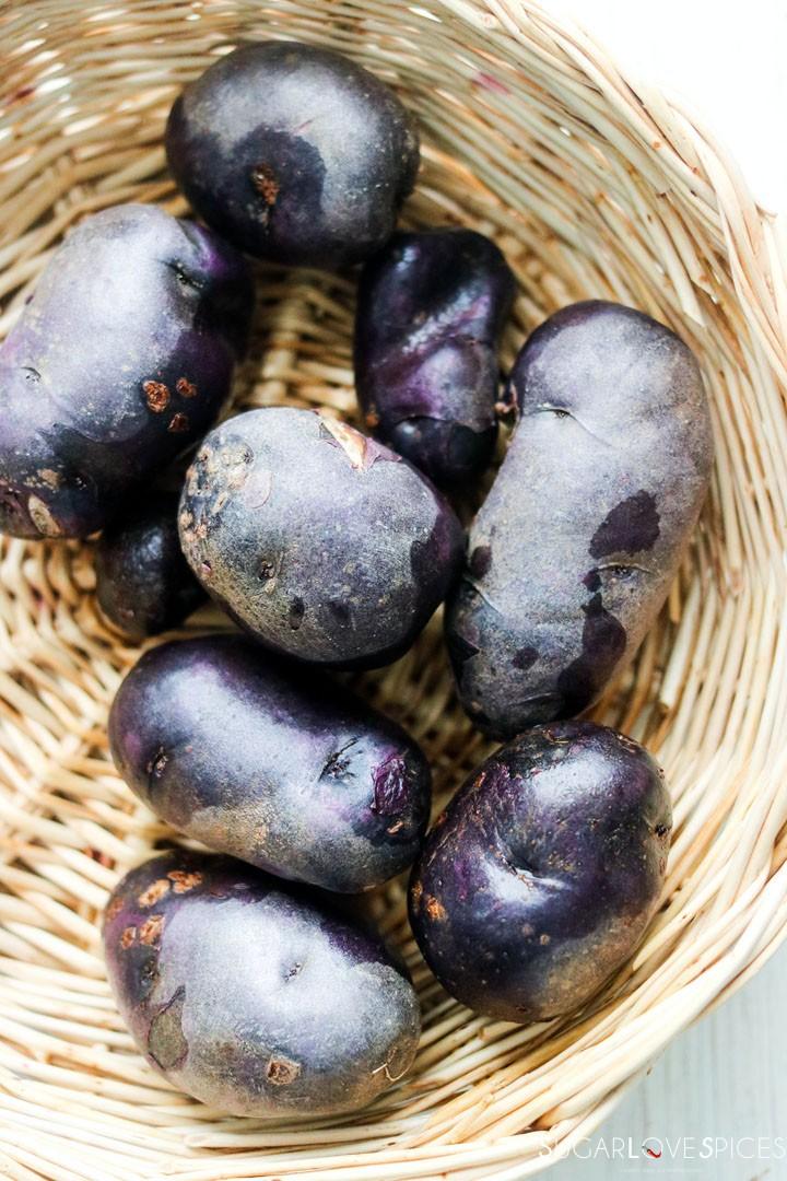 Homemade purple potato gnocchi-purple-potatoes-in-basket