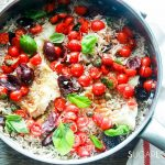 One pan rice and fish-in the pan-feature