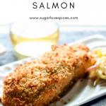 Sweet Chili Panko-crusted Salmon
