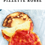 Homemade Pizzette Rosse