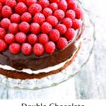 Double Chocolate Italian Cream Birthday Cake